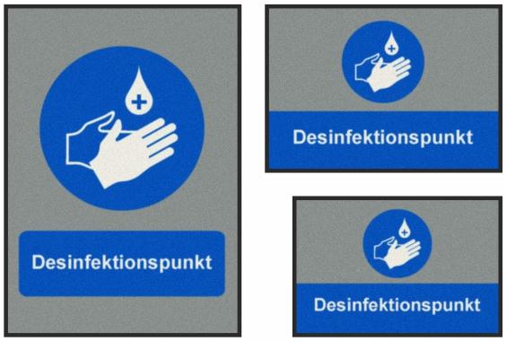 Desinfektionspunkt