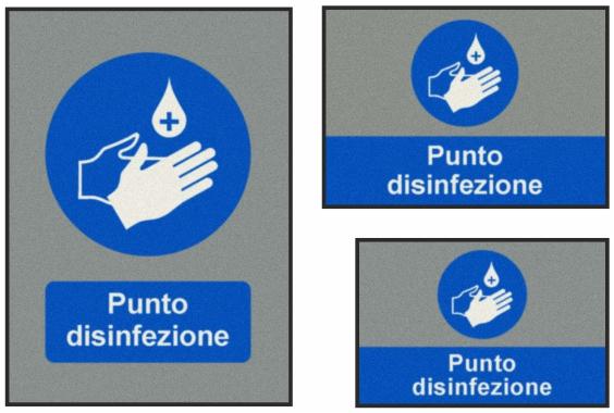 Punto disinfezione