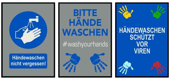 Bitte hände waschen