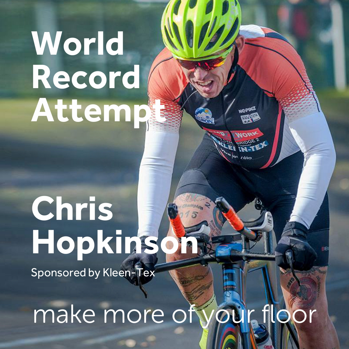 World Record Attempt by Chris Hopkinson