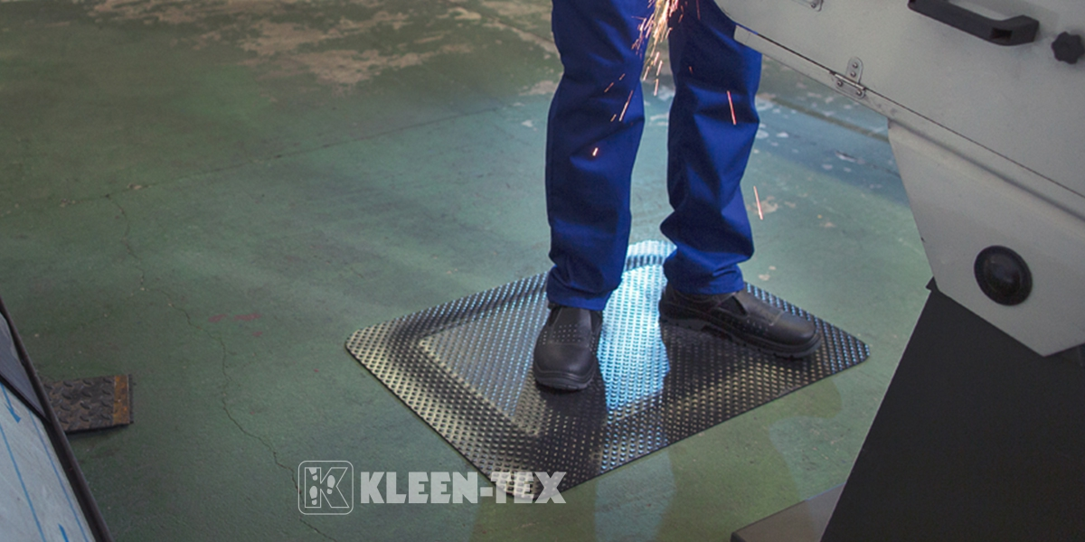 Kleen Komfort mats for the industrial workplace