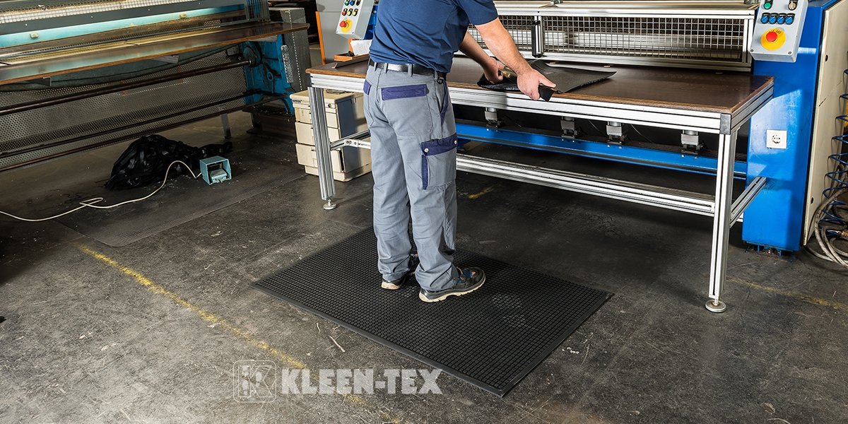 Kleen-Kushion anti-fatigue mat for workers