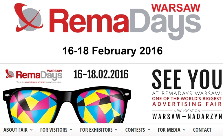 Come see us at REMADAYS 2016 - Hall E Booth D8...